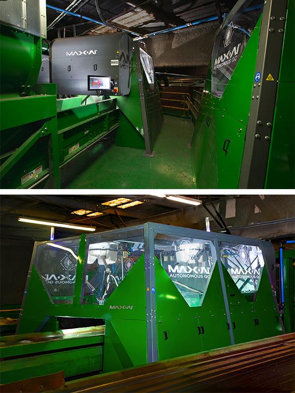 GreenWaste Max-AI Robotic Sorters