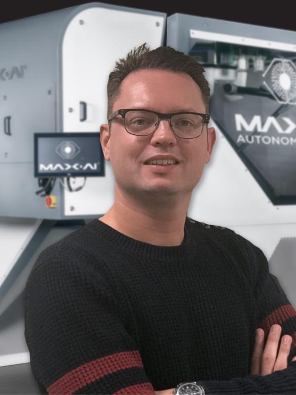 Remi Le Grande Named Max-AI Regional Sales Manager nrtsorters.com